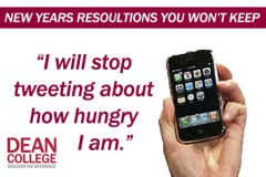 College Student New Years Resolution