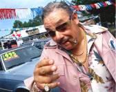A used car salesman...